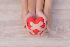 Gesundheitswesen, Liebe, Organspende, stockbilder