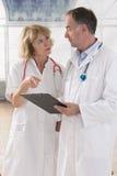 Gesundheitswesen- und Medizinleute Stockfotografie