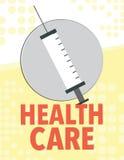 Gesundheitswesennewsletter Lizenzfreies Stockbild