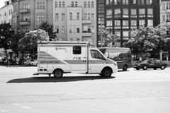 Gesundheitswesenservice-Auto Lizenzfreies Stockfoto