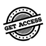 Get Access rubber stamp Royalty Free Stock Photo