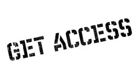 Get access stamp Stock Photo