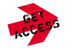 Get access stamp Royalty Free Stock Photo