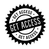 Get access stamp Stock Image