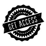 Get access stamp Royalty Free Stock Photos