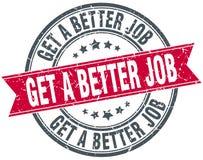 Get a better job stamp Stock Photos