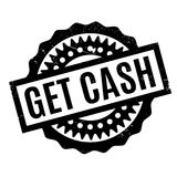 Get Cash rubber stamp Royalty Free Stock Image