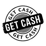Get Cash rubber stamp Royalty Free Stock Photo