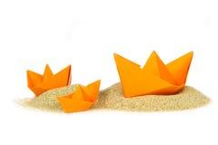 Get colou em um banco de areia Imagem de Stock Royalty Free