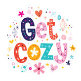 Get cozy stock illustration