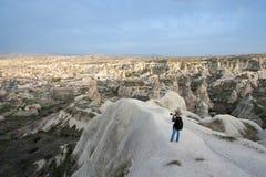 Get dark in Capadocia