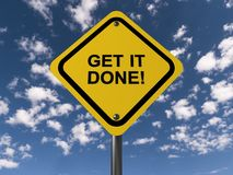 Get it done Stock Image