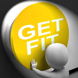 Get Fit Pressed Shows Physical And Aerobic Activity Stock Images
