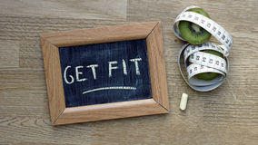Get fit Royalty Free Stock Images