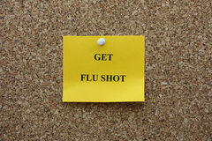 Get flu shot Stock Photos