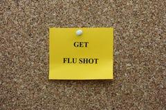 Get flu shot Stock Photos