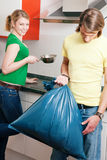 Get the garbage out Stock Image