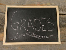Get good grades concept Royalty Free Stock Images