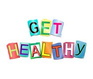 Get healthy concept. Royalty Free Stock Image