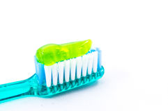 Get healthy smile with perfect toothpaste Royalty Free Stock Photography