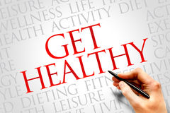 Get Healthy Stock Photography