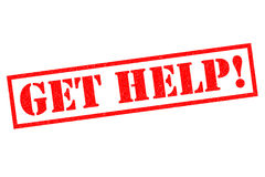 GET HELP! Stock Photography