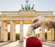 Get a hotel in berlin Royalty Free Stock Photo