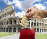 Get a hotel in rome Stock Image