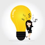 Get Idea Stock Photo