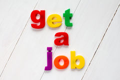 Get a job Stock Photo