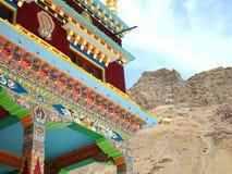 Monastery in Kaza stock photos