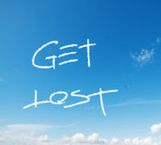 Get lost Stock Images