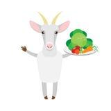 Get med grönsaker vektor illustrationer