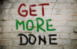 Get More Done Concept Stock Images