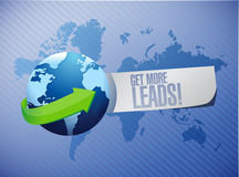 Get More Leads international sign Stock Images