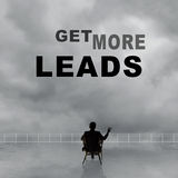 Get More Leads Stock Image