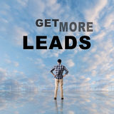 Get More Leads Stock Photo