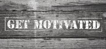Get Motivated Sign Royalty Free Stock Photos