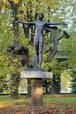 Get Naked sculpture (Monument of Nudist) in Kaliningrad, Russia Stock Image