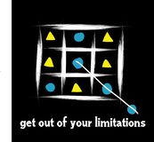 Get out of your limitations or boundary. At first glance it seems to violate the rules, but there are some secret rules that are to obey it is to violate it. a Royalty Free Stock Images