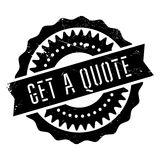 Get a quote stamp Stock Photos
