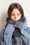 Get ready for the cold. Royalty Free Stock Images