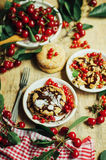Get the recipe for a scrumptious vegan and processed sugar free Royalty Free Stock Photography