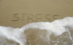 Get rid of stress Stock Photo