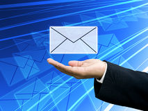Free Get The Business Newsletter, Technology Concept Royalty Free Stock Photos - 22119508