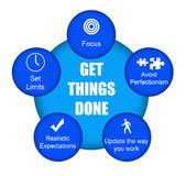 Get things done Stock Photos