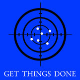 Get things done vector illustration