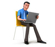 Get to work Stock Image