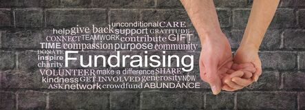 Free Get Together And Get Involved In A Fund Raising Campaign Stock Photos - 187499293