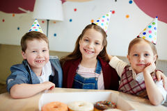 Get-together of kids Stock Photography